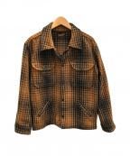 TENDERLOIN(テンダーロイン)の古着「T-BEAR WOOL JKT」|ブラウン