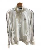 BURBERRY BLACK LABEL()の古着「トラックジャケット」 ホワイト