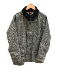 Babour (バブアー) Hound's Tooth CHECK WOOL Beauf グレー サイズ:38