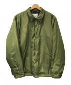 SUPREME×Champion(シュプリーム×チャンピオン)の古着「Champion Label Coaches Jacket」|オリーブ