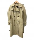 DRAWER(ドゥロワー)の古着「ライナー付トレンチコート」 ベージュ