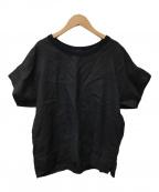 MARGARET HOWELL(マーガレットハウエル)の古着「SHIRTING LINEN Ⅲ」 ブラック