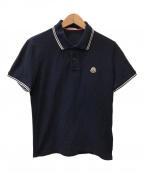 MONCLER(モンクレール)の古着「ロゴポロシャツ」 ネイビー