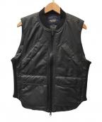 narifuri(ナリフリ)の古着「Ninja vest」 ブラック