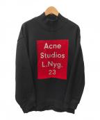 Acne studios(アクネストゥディオズ)の古着「BETA FLOCK PAW14」|ブラック