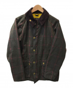 Barbour()の古着「SL BEDALE WINDOW PANE CHECK」|ブラウン
