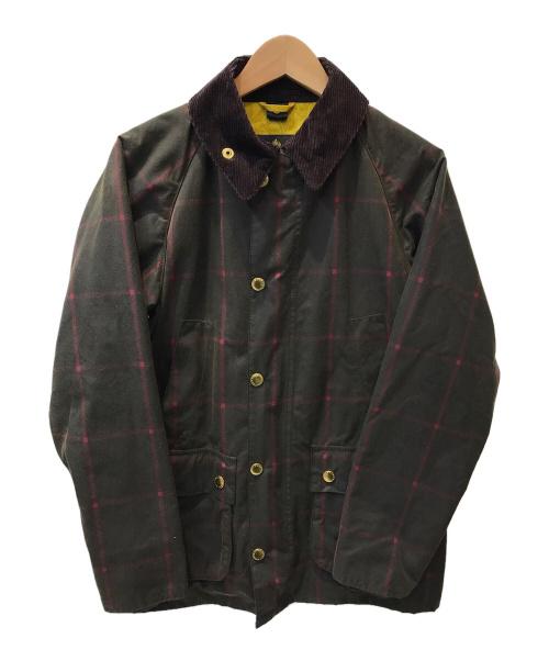 Barbour(バブアー)Barbour (バブアー) SL BEDALE WINDOW PANE CHECK ブラウン サイズ:36の古着・服飾アイテム