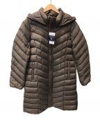 LAUTRE AMONT()の古着「ストレッチロングダウンコート」|ブラウン