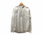 PEEL&LIFT(ピールアンドリフト)の古着「cutoff collar shirt シャツ」 ホワイト