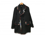 tricot COMME des GARCONS()の古着「パイピングコート」 ブラック