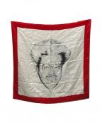 JOHN LAWRENCE SULLIVAN(ジョンローレンスサリバン)の古着「スカーフ」 レッド