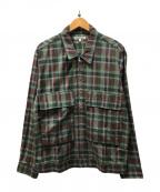 GAIJIN MADE(ガイジンメイド)の古着「ジップアップジャケット」|グリーン