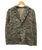 GAIJIN MADE()の古着「総柄ジャケット」|ブラウン