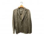 CIRCOLO 1901(チルコロ1901)の古着「ペイズリー柄ジャケット」 ベージュ