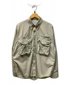 ()の古着「パフォーマンスフィシングギアシャツ」|ベージュ