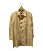 Fraizzoli(フライツォーリ)の古着「ショップコート」|ベージュ