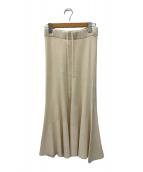 ()の古着「マーメイドスカート」|ベージュ