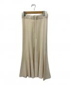 Plage(プラージュ)の古着「マーメイドスカート」|ベージュ