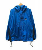 ()の古着「フーデッドジャケット」 ブルー