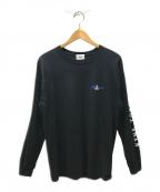 SOPH.×KYNE(ソフ×キネ)の古着「ロングスリーブカットソー」|ブラック