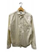 ()の古着「ボタンダウンシャツ」|ベージュ