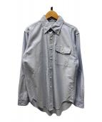 ()の古着「ボタンダウンシャツ」|ブルー