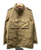 PAUL SMITH()の古着「ミリタリージャケット」|ベージュ