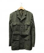 ROYAL MARINES(イギリス海軍/海兵隊)の古着「ウールミリタリーコート」|カーキ