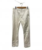 Denham(デンハム)の古着「デニムパンツ」 ホワイト