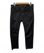 Denham(デンハム)の古着「BOLT/デニムパンツ」 ブラック