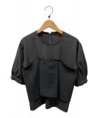 ()の古着「ビスチェブラウス」 ブラック