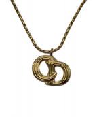Christian Dior(クリスチャン ディオール)の古着「ネックレス」|ゴールド