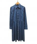 RALPH LAUREN(ラルフローレン)の古着「シャツワンピース」 ブルー