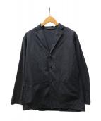 ()の古着「タイプライター シャツジャケット」 ネイビー
