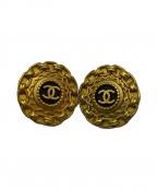 CHANEL()の古着「【OLD】ヴィンテージココマークイヤリング」|ゴールド