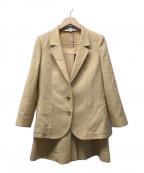 Christian Dior(クリスチャン ディオール)の古着「セットアップスーツ」|ベージュ