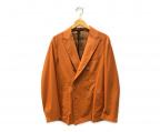 THE GIGI(ザ・ジジ)の古着「ダブルジャケット」|オレンジ