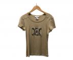 ()の古着「Tシャツ」 ベージュ