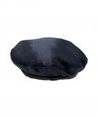 Engineered Garments(エンジニアドガーメンツ)の古着「BeretPCKasha/ベレー帽」 ネイビー