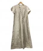 JURGEN LEHL(ヨーガンレール)の古着「リネンワンピース」 ベージュ