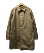UNITED ARROWS(ユナイテッドアローズ)の古着「ライナー付ステンカラーコート」|ベージュ