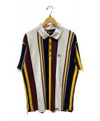 ()の古着「FZ1794別注ポロシャツ」|ブラウン×ネイビー