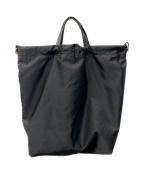 ORSETTO(オルセット)の古着「ナイロンストラップショルダーバッグ」|ブラック