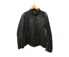 JOSEPH HOMME(ジョゼフ オム)の古着「シングルライダースジャケット」 ブラック