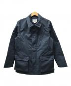 Mt. Rainier Design(マウントレイニアデザイン)の古着「ステンカラーコート」 ネイビー