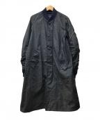MACPHEE(マカフィー)の古着「ロングMA-1コート」|ネイビー