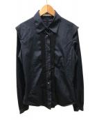 ()の古着「デザインシャツ」 ネイビー