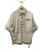 ()の古着「LAUNDRY BAG PULLOVER/半袖シャツ」|アイボリー