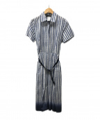 WEEKEND Max Mara(ウィークエンド マックスマーラ)の古着「シャツワンピース」|ブルー×ホワイト