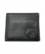 GUCCI()の古着「2つ折り財布」 ブラック